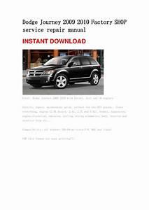Dodge Journey 2009 2010 Repair Manual