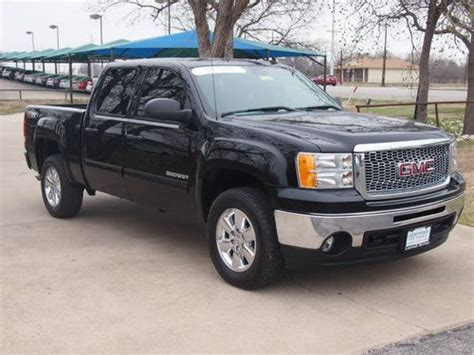on board diagnostic system 2012 gmc sierra 1500 electronic toll collection buy used 2012 gmc sierra 1500 sle 4wd crew cab wb 6 speed automatic 4 door truck black in