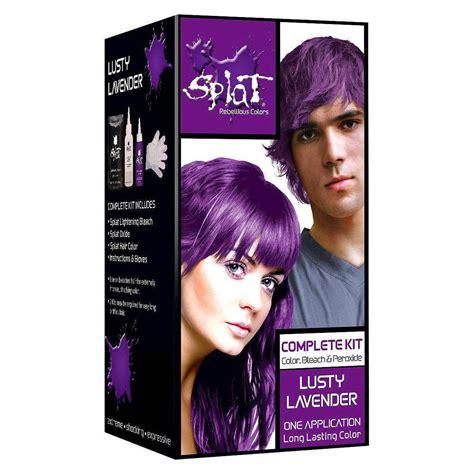 Splat Rebellious Colors Semi Permanent Hair Dye Lusty