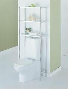 Chrome shelves bathroom furniture kmartcom for Kmart bathroom furniture