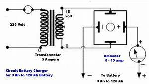 Car Battery Circuit Diagram