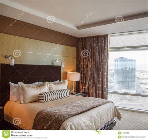 chambres d h es de luxe lit de dno dans la chambre d 39 hôtel de luxe image libre de