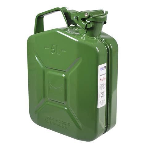 5 liter benzinkanister kanister benzinkanister metall 5 liter benzin armee nato