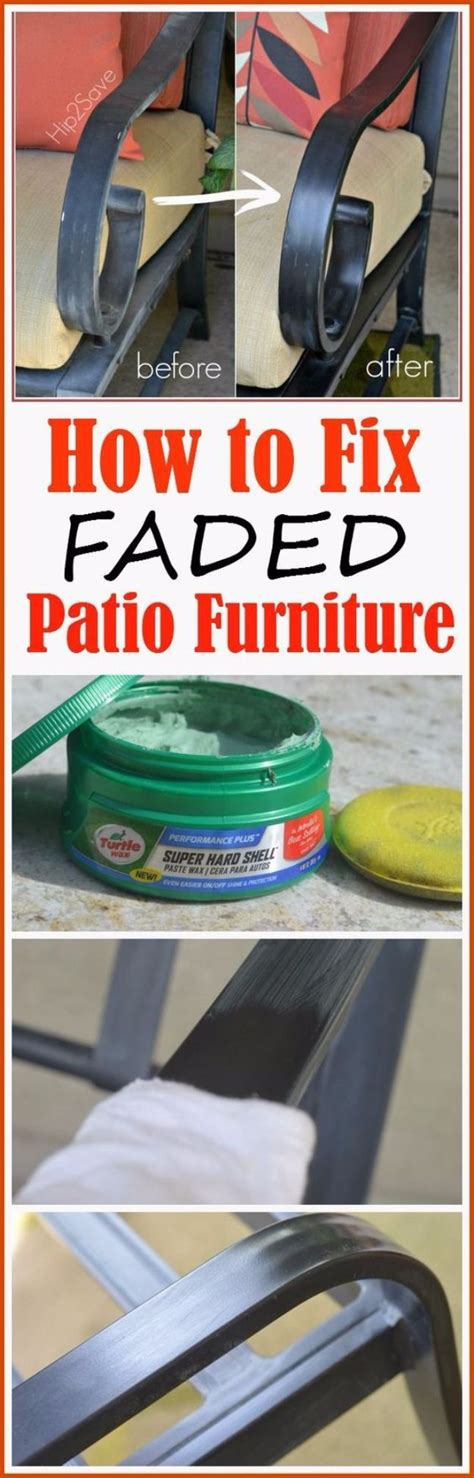 33 home repair secrets from the pros fixing faded patio