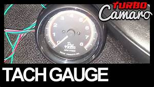 1967 Camaro - How To Install A Tachometer On The Column Shifter