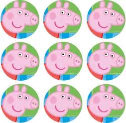 guppies cake toppers peppa pig cupcake icing image this party started