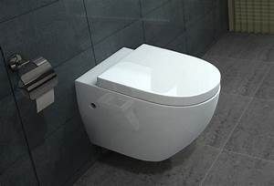 Abstand Wc Wand : lux aqua wandh ngende wc inkl nano beschichtung b2376 ebay ~ Lizthompson.info Haus und Dekorationen