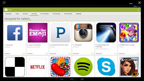android play app run android on windows fastest android emulator