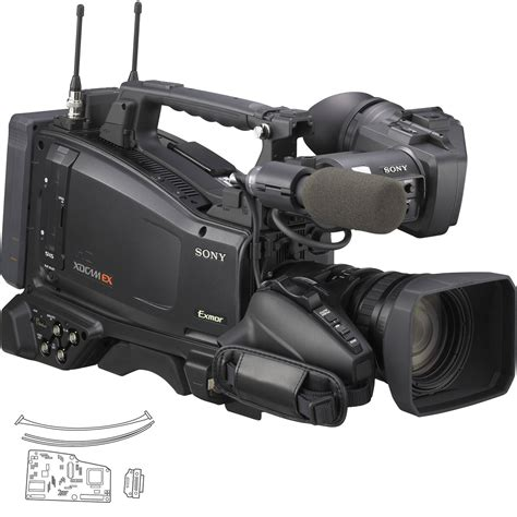 Sony Pmw-350k Xdcam Ex Camcorder W/16x Zoom & Pmw-350kce B&h