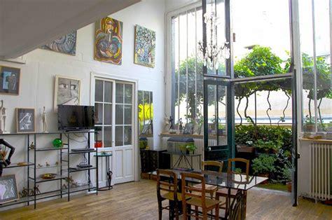 dans la cuisine nantes 14e atelier d artiste avec balcon terrasse