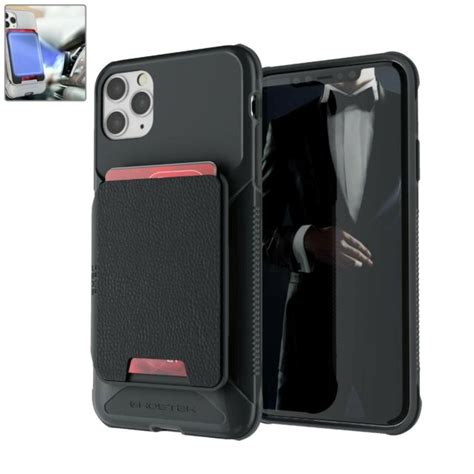 Thin card holder case for iphone xs 11 pro max xr zipper leather wallet shockproof silicone cover for iphone 5 5s 8 7 6 6s plus. iPhone 11 Pro Max Case Cover Shockproof Detachable Magnetic Leather Card Holder | eBay