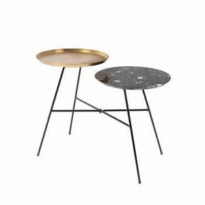 Table D Appoint Doré : table basse design et table basse gigogne drawer ~ Teatrodelosmanantiales.com Idées de Décoration