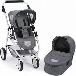 Puppenwagen 2 In 1 : chic2000 2in1 kombi puppenwagen emotion jeans grey online kaufen otto ~ Eleganceandgraceweddings.com Haus und Dekorationen