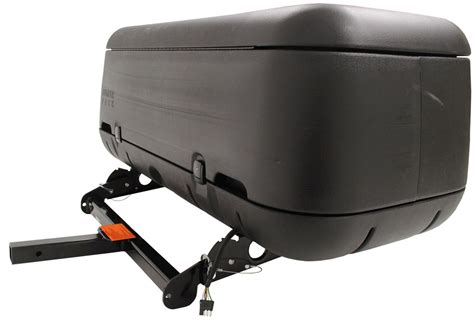 trailer hitch rack rola tilting enclosed cargo carrier for 2 quot trailer hitches