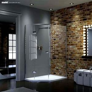 Matki shower enclosures trays for Shower cubicles for small bathrooms uk