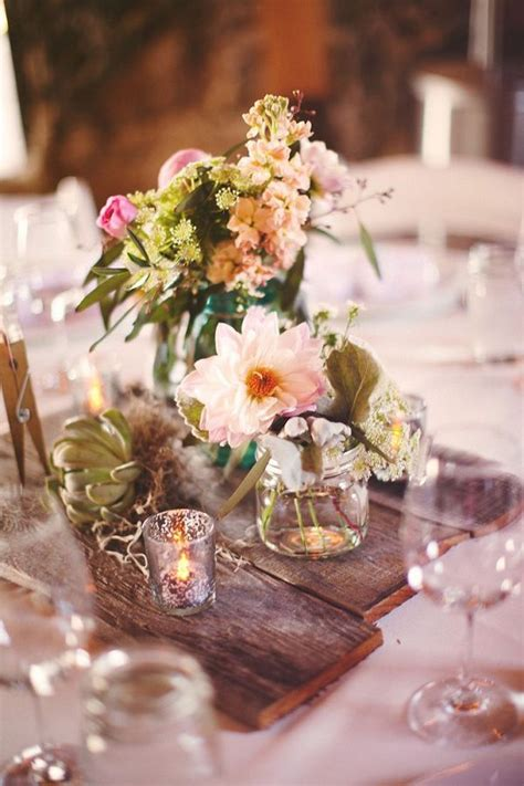 25 best ideas about wood wedding centerpieces on