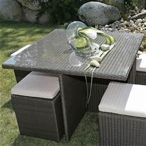 salle a manger resine tressee mobilier canape deco With canape resine tressee exterieur 2 salon de jardin selection et conseils pour bien choisir