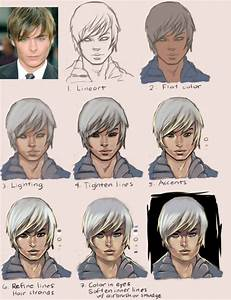 Anime Painting Tutorial: Boy by taho on DeviantArt