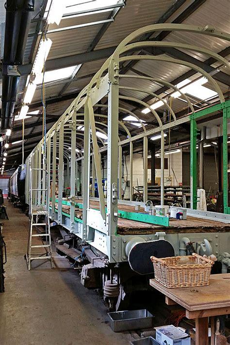 bluebell railway vans british railways bogie scenery van