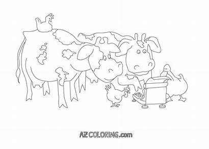 Coloring Moo Clack Cows Type Pages Coloringhome