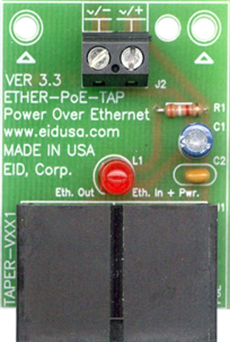 Electronic Kits Poe Power Over Ethernet Injector