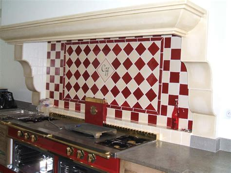 faience cuisine et blanc cuisine carrelage mural cuisine carreaux et faience