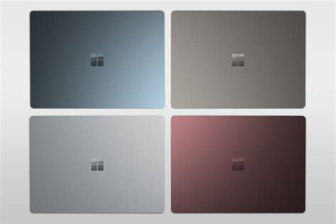 surface pro keyboard colors microsoft s surface laptop colors now available outside