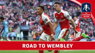 Arsenal's Road to Wembley - 2017 Emirates FA Cup Final ...