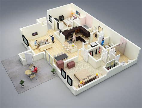 contoh denah rumah  penjelasannya desain rumah