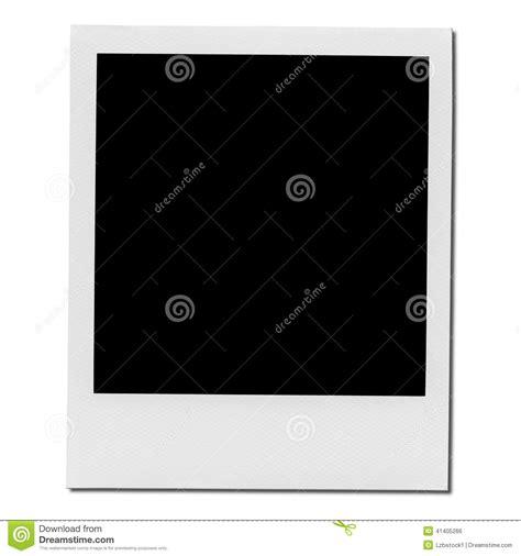 taille de cadre photo cadre polaro 239 d vide de photo photo stock image 41405266