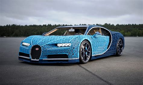 Just a car, like any other: Lego Bugatti Chiron is a life-size toy that can actually be driven