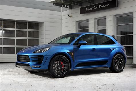 Porsche Macan Modification by Tuning Porsche Macan Turbo Ursa Topcar