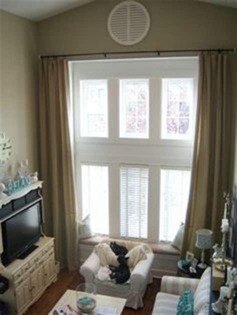 tall window treatments images  pinterest