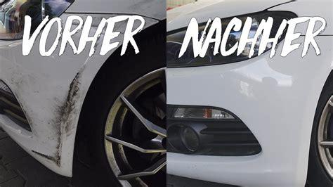 kratzer aus plastik entfernen auto auto kratzer entfernen so macht ihr es selbst
