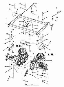 Snapper Rzt185380bve  7800009  38 U0026quot  18 5 Hp Rzt Twin Stick Series 0 Parts Diagram For Transaxle Group