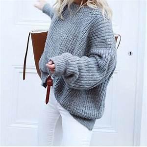 Gros Pull Laine Homme : pull blanc grosse maille femme veste gilet laine femme ~ Louise-bijoux.com Idées de Décoration