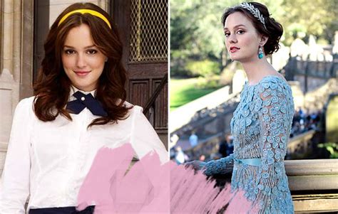 Gossip Girl The Casts First Season Looks Vs Their Looks