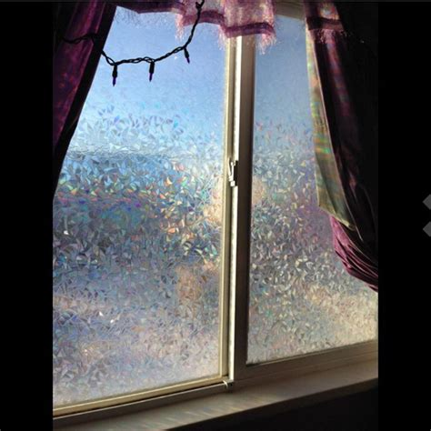 removable privacy window glueless static cling decorative frosted privacy window 4700