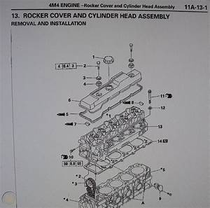 Mitsubishi Delica L400 Workshop Manual  U0026 2 8 Td 4m40