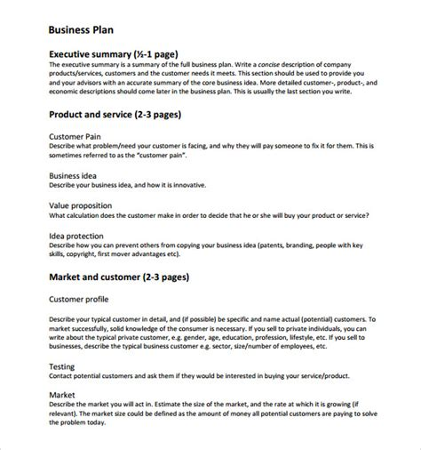 Your business plan is the foundation of your business. 7+ Sample Business Plan Templates   Sample Templates