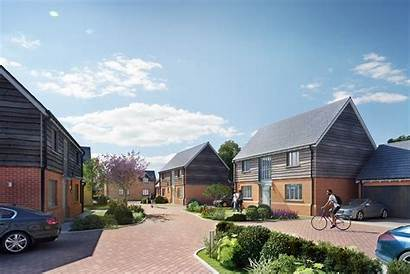 Rural Street Development Wye Hay Bookers Edge