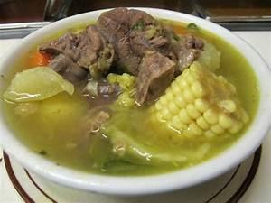 Caldo de Rez (beef stew, beef soup) Picture of Alicia's