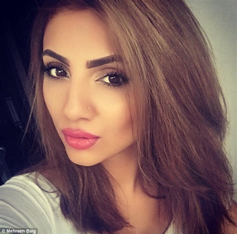 selfie beautiful woman mehreen baig finds out hev light from her phone is