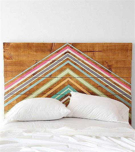 Painted Wood Headboards by Diy Headboard Project Ideas The Idea Room