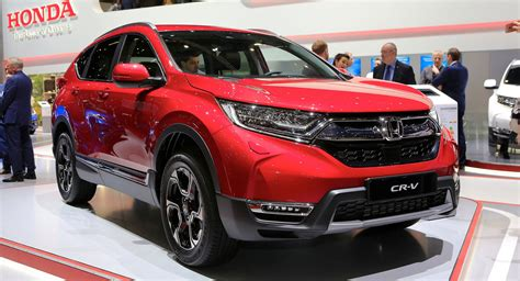 honda crv hybrid 2018 spec 2018 honda cr v arrives with hybrid and 7 seat options carscoops