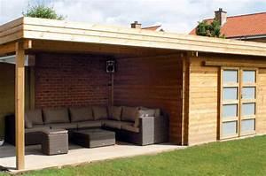 Abri De Jardin Avec Terrasse : terrasses abris am nagement jardin passions ~ Dailycaller-alerts.com Idées de Décoration