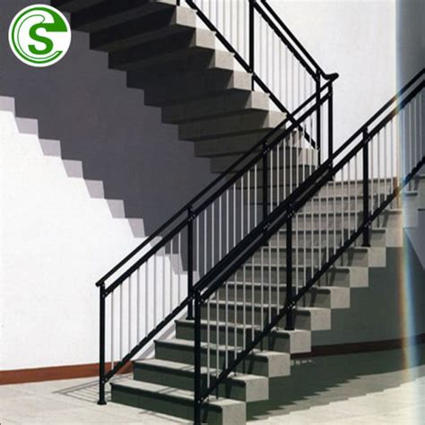 Ms Handrail Design - china powder coating handrail iron and steel stair railing