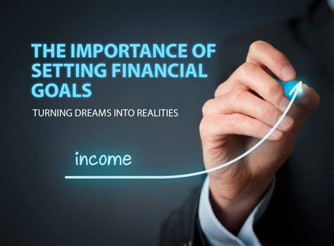 The Importance Of Setting Financial Goals Turning Dreams