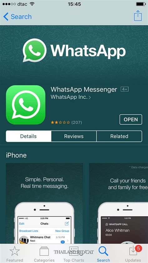 the 3 most popular messenger apps in thailand thailand redcat