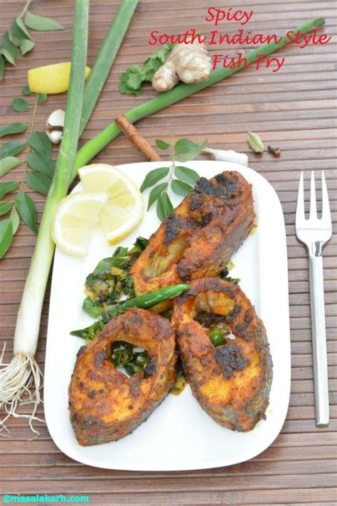 spicy south indian style fish fry masalakorb